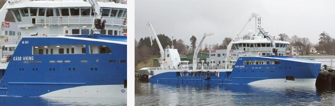 Gåsø Viking, brønnbåt