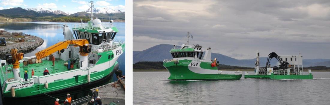 blir båten ægir reparert