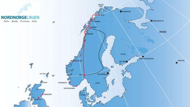 kart nordlandsbanen Kystrederiene | Nordlandsbanen kart nordlandsbanen