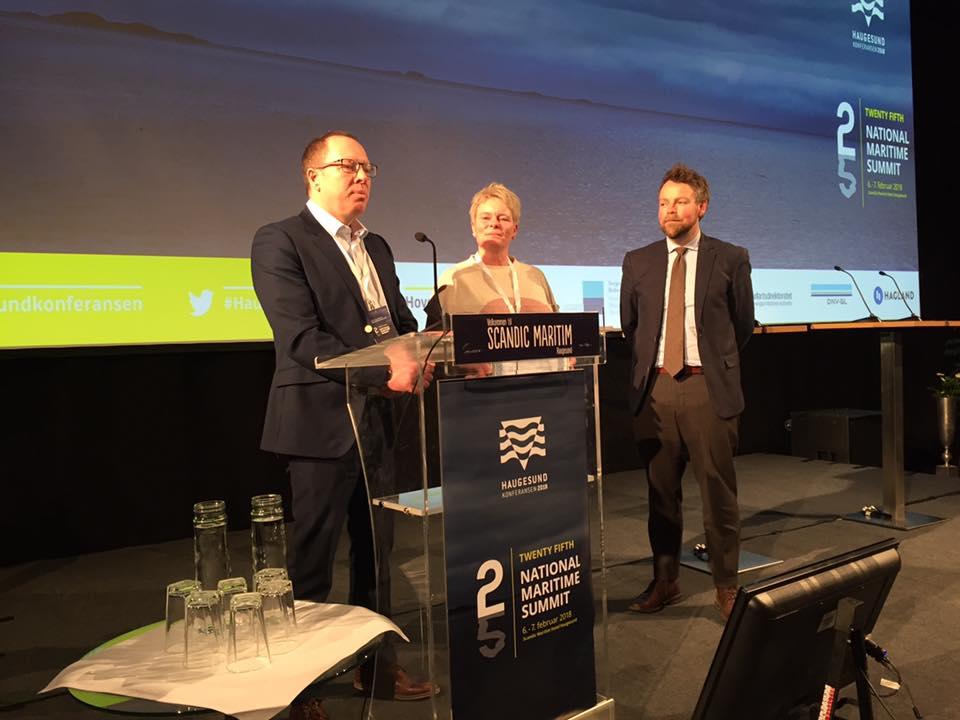 Egil Ulvan AS er kåret til Årets maritime lærebedrift 2017!