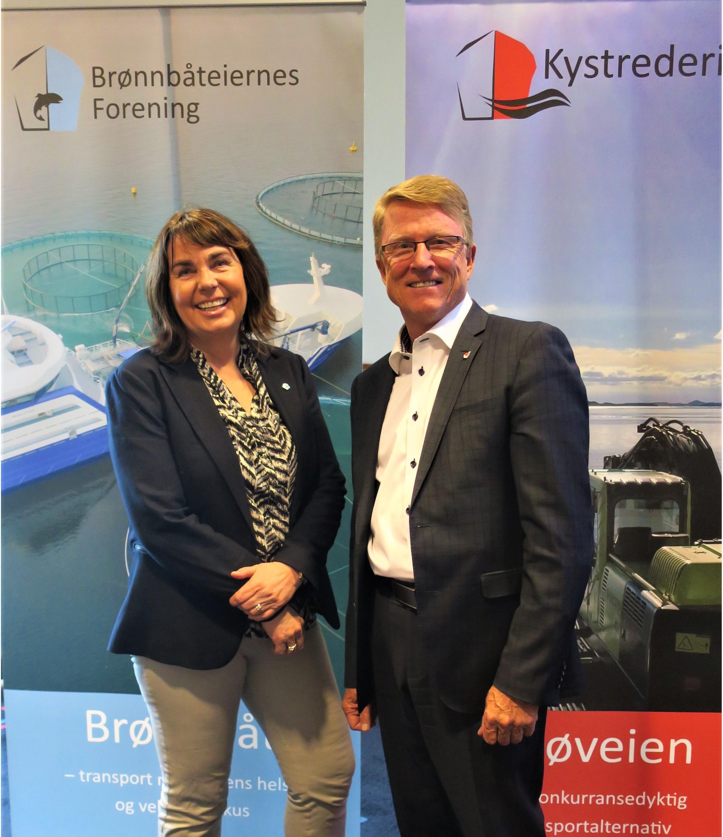 Nye styreledere i Kystrederiene og Brønnbåteiernes Forening