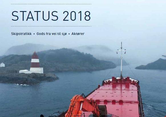 Kystverket med statusrapport på skipstrafikk og godsoverføring