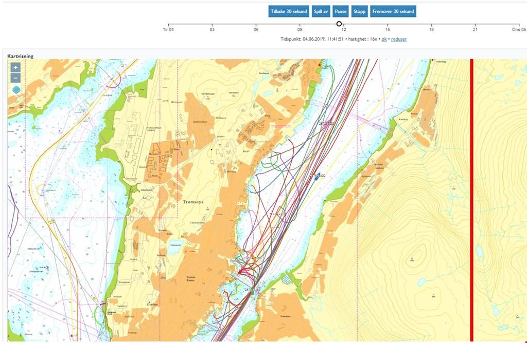 Få tilgang til sjøtrafikkdata hos Kystverket